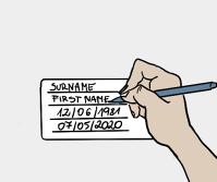 Fill out label