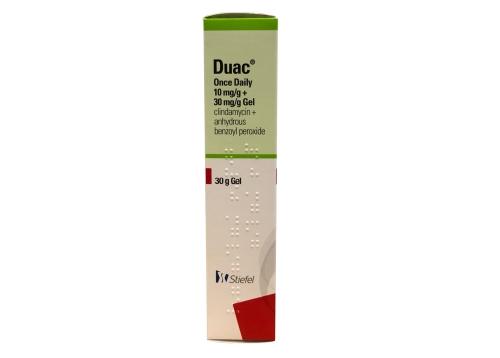 Duac 3% Gel Stiefel green box